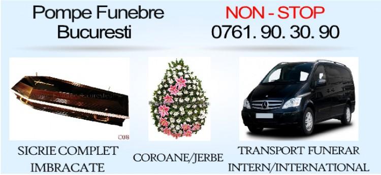 POMPE FUNEBRE BUCURESTI SECTOR 1 NON-STOP:0761 90 30 90