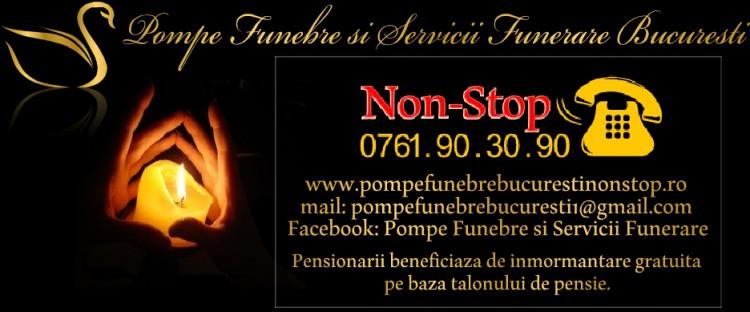 POMPE FUNEBRE BUCURESTI SECTOR 2 NON-STOP:0761 90 30 90